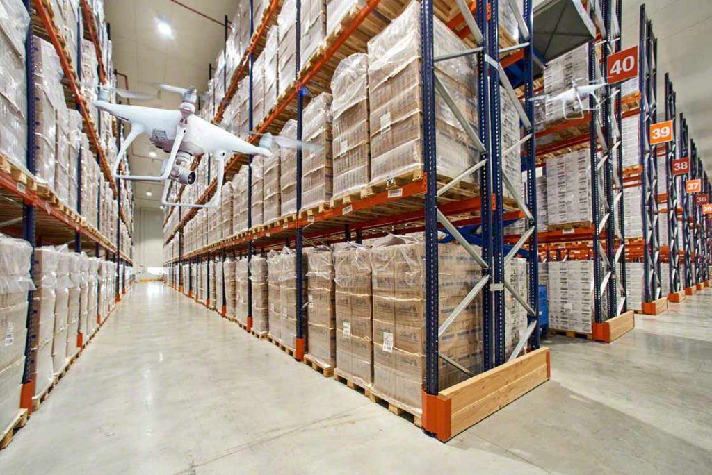 IOT in warehouse Management  in action