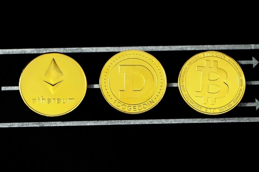 Physical  form of crypto currencies