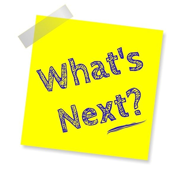 post-it note whats next